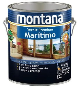 Montana Verniz Premium Marítimo Natural Acetinado