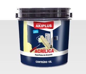 Grafftex Acrílico Akiplus Branco 18 Litros