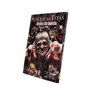 Ataque dos Titãs Antes da Queda Vol. 14