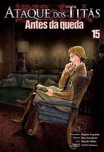 Ataque dos Titãs Antes da Queda Vol. 15 - Pré-venda