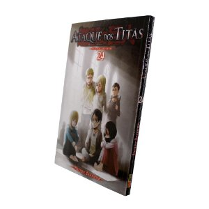 Ataque dos Titãs Vol. 24 - Pré-venda