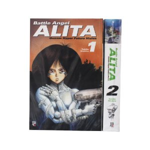 Battle Angel Alita Vol. 1 e 2 - Pré-venda