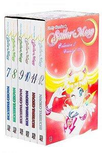 Box do Sailor Moon Vol. 7 ao 12 - Pré-venda