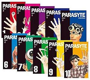 Box Parasyte Vol. 1 ao 10 - Pré-venda