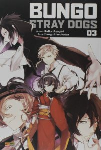 Bungo Stray Dogs Vol.3 - Pré-venda