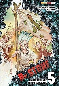 Dr. Stone Vol. 5 - Pré-venda
