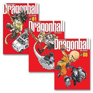 Dragon Ball Edição Definitiva Vol. 1 ao 3 - Pré-venda