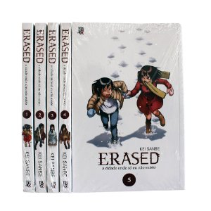 Erased Vol. 1 ao 5