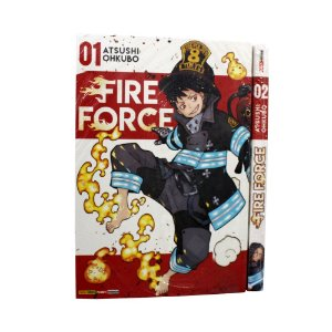 Fire Force Vol. 1 e 2 - Pré-venda