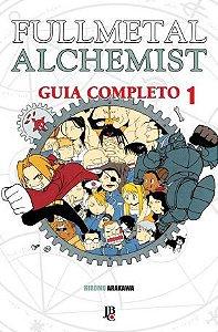 Fullmetal Alchemist Guia Completo Vol. 1 pré-venda