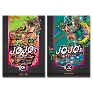 Jojo'S Bizarre Adventure. Battle Tendency Vol.1 e 2 - Pré-venda