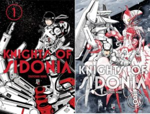 Knights of Sidonia Vol. 1 ao 8 - Pré-venda