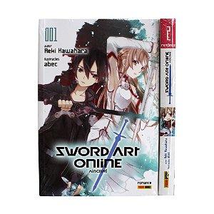 Light Novel Sword Art Online Vol. 1 e 2 - Pré-venda