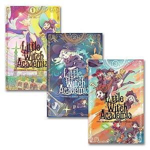 Little Witch Academia Vol. 1 ao 3 - Pré-venda