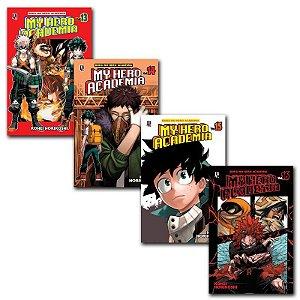 My Hero Academia Vol. 13 ao 16 - Pré-venda