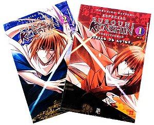 Rurouni Kenshin Versão do Autor Vol. 1 e 2 - Pré-venda