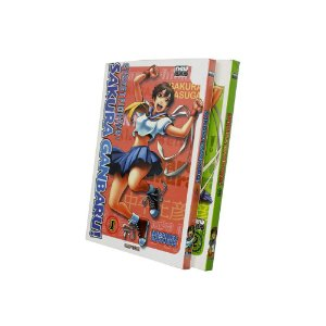 Street Fighter: Sakura Ganbaru! Vol. 1 e 2 - Pré-venda
