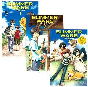 Summers Wars Vol. 1 ao 3 - Pré-venda