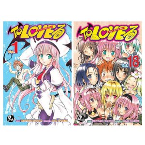 To Love Ru Vol. 1 ao 18 - Pré-venda