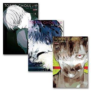 Tokyo Ghoul: re Vol.8, 9 e 10 - Pré-venda