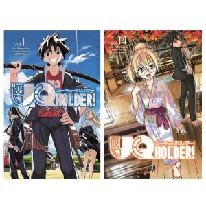 UQ Holder Vol. 1 ao 14 - Pré-venda