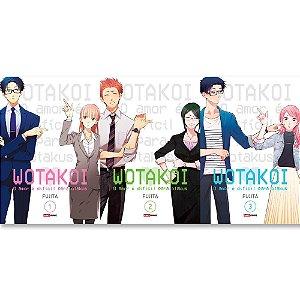 Wotakoi: O amor é difícil para os otakus Vol.1 ao 3 - Pré-venda
