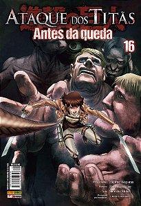 Ataque dos Titãs Antes da Queda Vol. 16 - Pré-venda