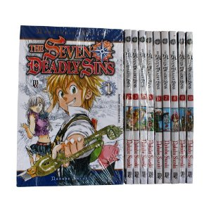 The Seven deadly Sins Vol. 1 ao 10 - Pré-venda