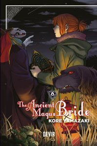 The Ancient Magus Bride Vol. 6 - Pré-venda