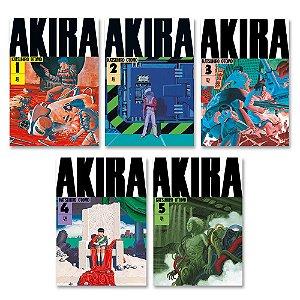 Akira Vol. 1 ao 5 - Pré-venda