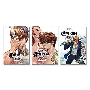 Origin Vol.1 ao 3 - Pré-venda