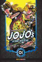 Jojo's Bizarre Adventure Parte 3: Stardust Crusaders Vol. 1 - Pré-venda