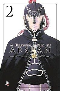 A Heroica Lenda de Arslan Vol. 2 - Pré-venda