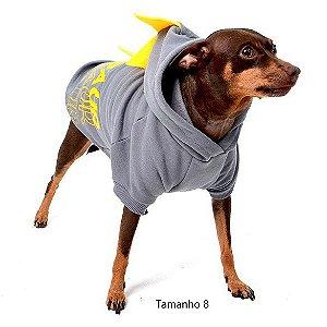 Moletom para Cachorros Dogssauro Cinza