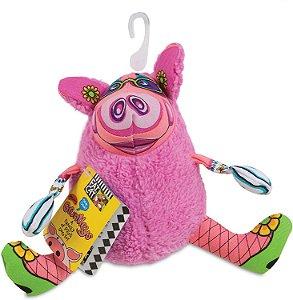 Brinquedo para Cachorros Pelúcia Gruntleys Mini Rosa