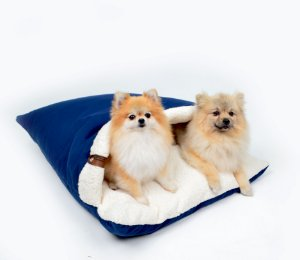 Almofadão para Cachorros Sarja Premium Marinho