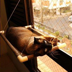 Cama de Janela para Gatos Catbed Suede
