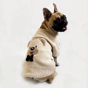 Blusa para Cachorros e Gatos Ursinho