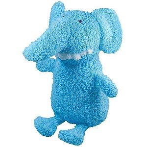 Brinquedo para Cachorro Pelúcia Dentinho Elefante