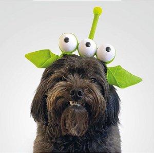 Fantasia para Cachorros e Gatos Tiara Aliens