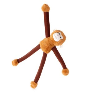 Brinquedo para Cachorro Pelúcia My BFF Monkey Bungee