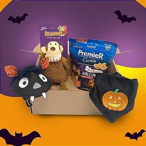 Box de Halloween para Cachorros Petiscos ou Travessuras