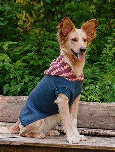 Tricot Com Capuz para Cachorros e Gatos | Mirtilo