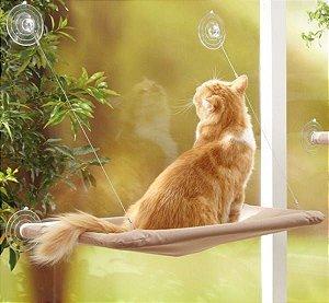 Cama Suspensa de Janela para Gatos | Caramelo