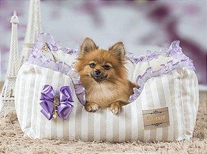 Cama Retangular para Cachorros | Bailarina Lilás