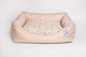 Cama Retangular para Cachorros | Marble Pink