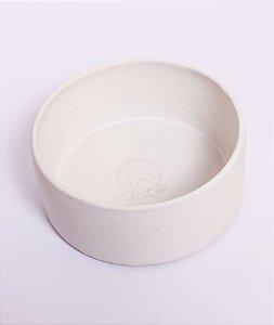 Comedouro em Cerâmica Branco