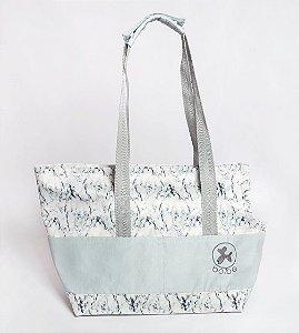 Bolsa de Passeio para Cachorros e Gatos | Marble Grey