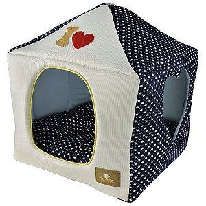 Casinha para Cachorros e Gatos | I Love Marinho