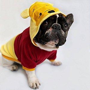 Blusa para Cachorros e Gatos Ursinho Amarelo